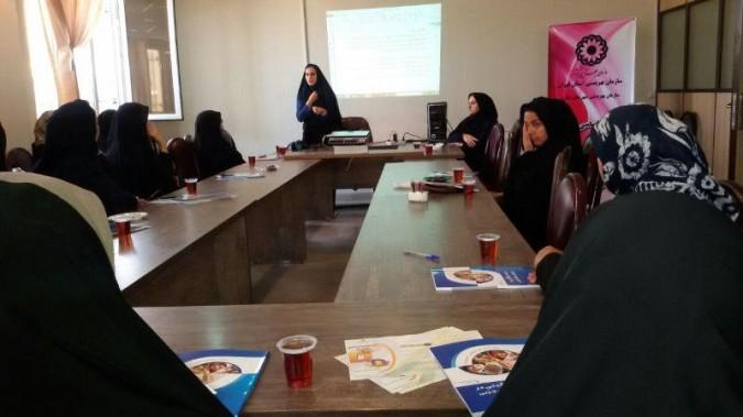 برگزاری کلاس آموزش سوانح و حوادث در شهرستان ملارد