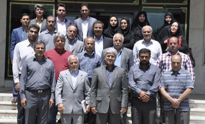 اولین جلسه شورای مشورتی شهرستان شهریار(شمش) در بخش ورزش