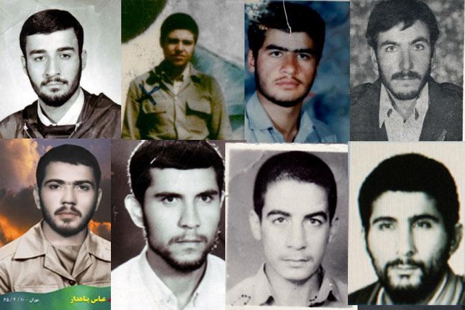 تصاویرشهدای شهرستان شهریار در عملیات آزاد سازی شهرمرزی مهران درتیر 136