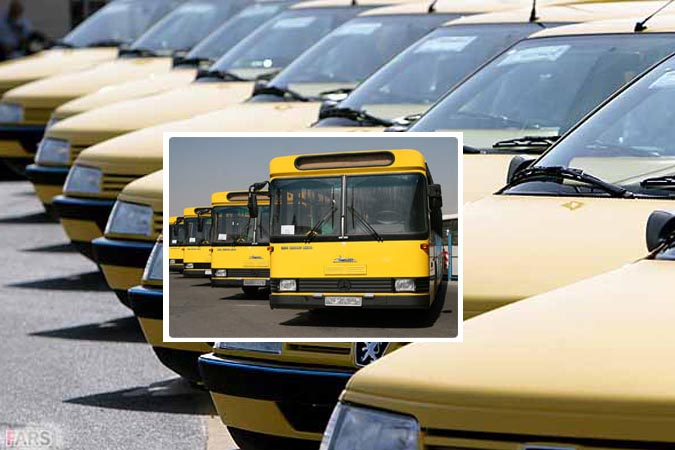 بازرسی از واحد اتوبوسرانی و تاکسیرانی اندیشه