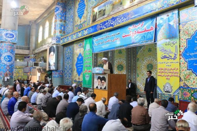 گزارش تصویری از نماز جمعه شهریار