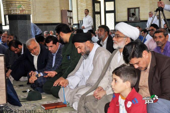 گزارش تصویری از نماز جمعه شهرستان ملارد