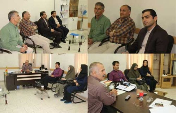 نشست رئیس هئیت همگانی با کمیته های فعال شهرستان شهریار