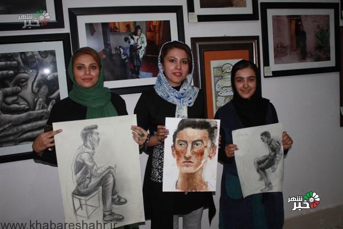 برگزاری مسابقه طراحی نقاشی در نمایشگاه دستاوردهای دولت تدبیر وامید  شهرستان شهریار