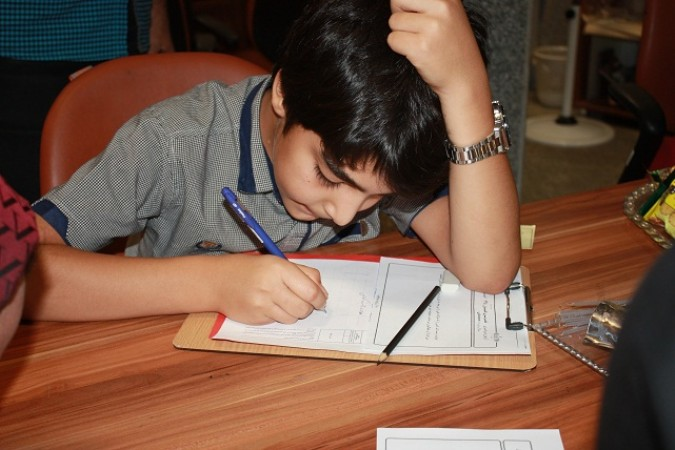 برگزاری آزمون سراسری خوشنویسی  تابستان درشهرستان شهریار