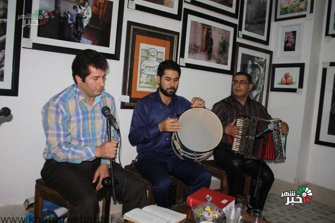 برگزاری محفل ادبی واجرای موسیقی  در نمایشگاه دستاوردهای دولت تدبیر وامید  شهرستان شهریار