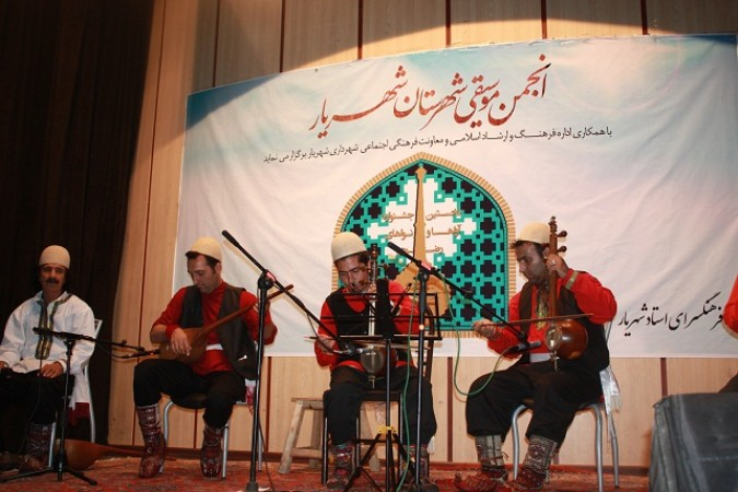 سومین اجرای گروه های موسیقی آواها ونواها درشهرستان شهریار