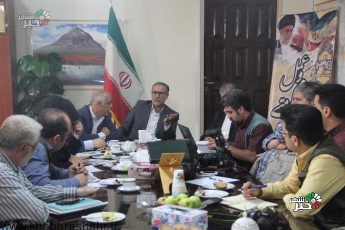نشست مطبوعاتی فرماندار شهرستان ملارد به مناسبت هفته دولت