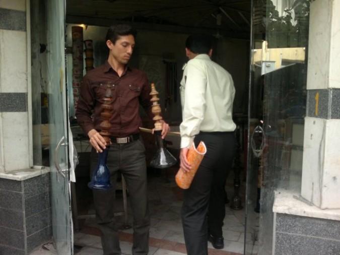 اجرای طرح جمع آوری قلیان در شهرستان شهریار