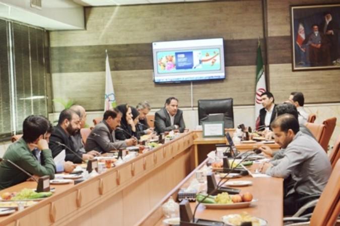 جلسه ستاد مبارزه با مواد مخدر شهرستان شهریار در صباشهر