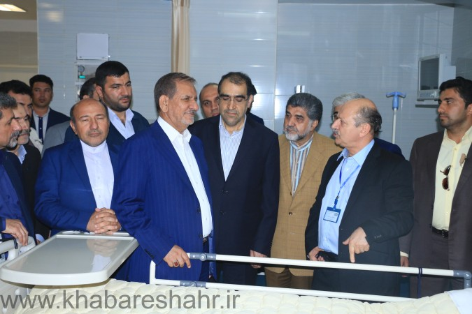 گزارش تصویری از افتتاحیه بیمارستان فوق تخصصی نور شهریار