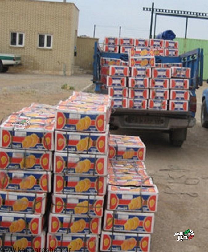 کشف 60 تن انبه قاچاق در شهریار