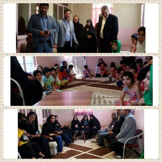 بازدید مسئولین از مراکز بهزیستی شهرستان ملارد