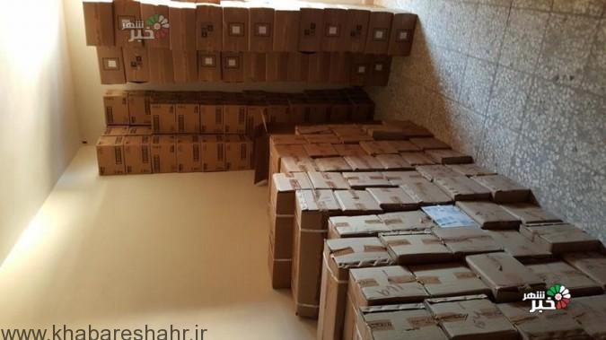 کشف کمپوت قاچاق به ارزش 100 میلیون ریال در غرب استان تهران