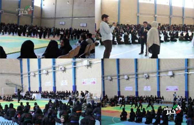 مسابقات کشوری نینجارنجر بانوان در شهرستان شهریار برگزار شد