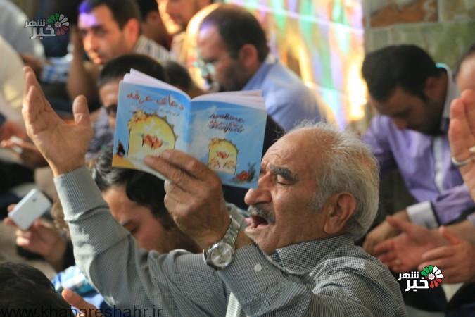 گزارش تصویری  از مراسم پر فیض دعای عرفه در شهریار