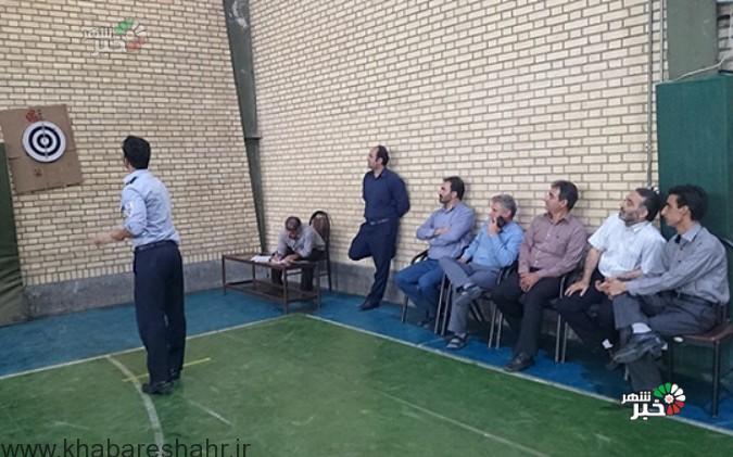 برگزاری مسابقه دارت کارکنان ادارات شهر وحیدیه شهریار به مناسبت هفته دولت