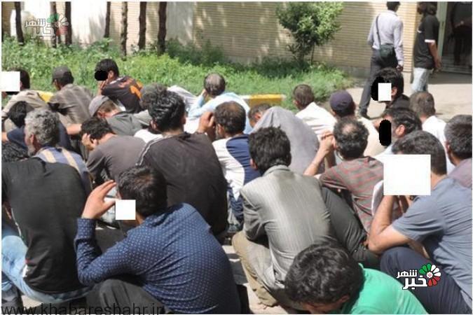 جمع آوری 55 معتاد تابلو و خطرناک در ملارد