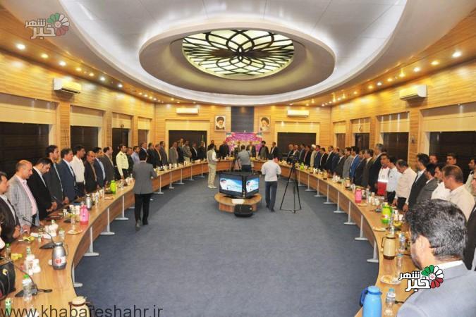 چهارمین جلسه شورای اداری شهرستان ملارد با حضور سردار نقدی وسردار نصیری + عکس