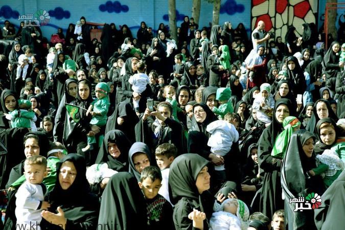 همایش شیرخوارگان حسینی شهر امیریه به روایت تصویر