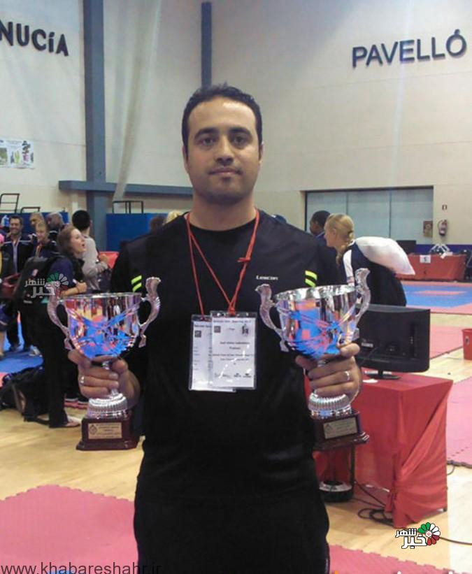 حضور مربی شهریاری در تیم ملی تکواندو
