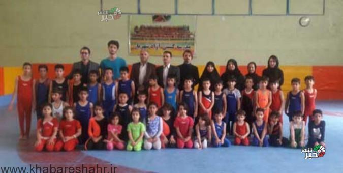 جشنواره ژیمناستیک در شهرستان شهریار برگزار شد