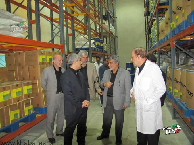 بازدید ریاست محترم سازمان صنعت،معدن وتجارت استان تهران