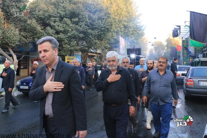 گزارش تصویری از عزاداری هیئت های مذهبی عباس آباد و کرشته