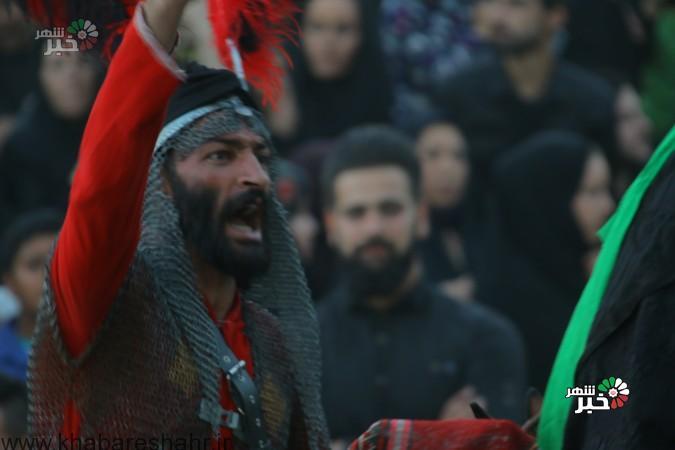 گزارش تصویری از  عزاداران حسینی در شهر فردوسیه