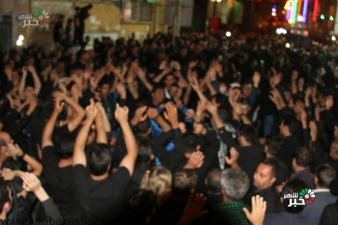 گزارش تصویر از گردهمایی بزرگ هیئت های مذهبی در  عصر عاشورا ( فردوسیه )