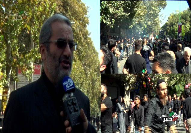 تاریخچه عزاداری تاسوعا در شهریار ( ویدئو )