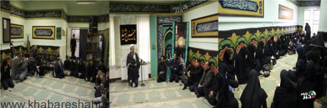 برگزاری هیئت منتظران موعود(عج) در شبکه بهداشت ودرمان شهرستان شهریار