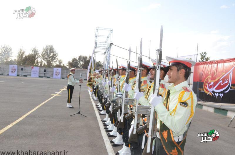 برگزاری صبحگاه مشترک وحدت بخش نیروهای مسلح در غرب استان تهران
