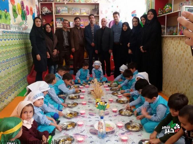 افتتاح ارائه غذای گرم در روستا مهدهای شهرستان ملارد