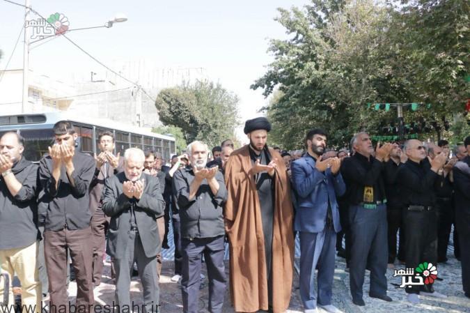 عزاداری روزعاشورا هیات های مذهبی عباس آباد شهریار