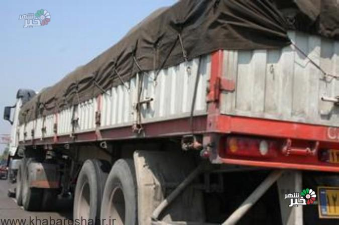 ماموران پلیس راه فرماندهی انتظامی غرب استان تهران تعداد 120 دستگاه کامیون دارای اضافه بار را روانه پارکینگ کردند.