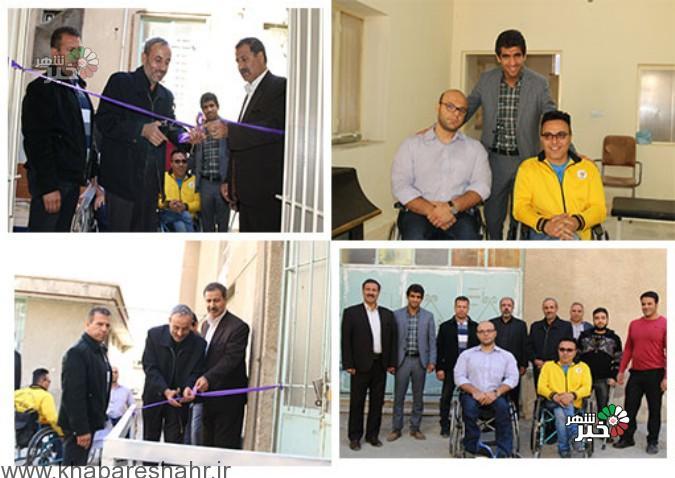 افتتاح دفتر و خانه وزنه برداری هئیت جانبازان و معلولین شهرستان شهریار برگزار شد