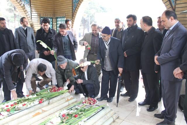 گرامیداشت شهدای گمنام در دانشگاه آزاد شهرستان قدس