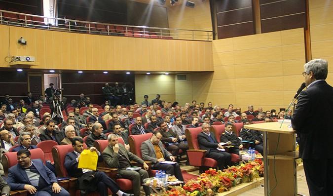 فرماندار شهرستان شهریار در همایش حمل و نقل