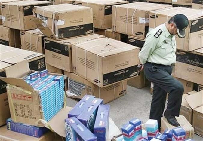 توقیف ۶ محموله قاچاق به ارزش ۲ میلیارد و ۵۰۰ میلیون ریال در رباطکریم
