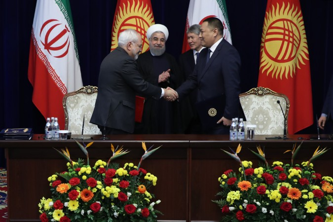 تهران و بیشکک پنج سند همکاری امضا کردند
