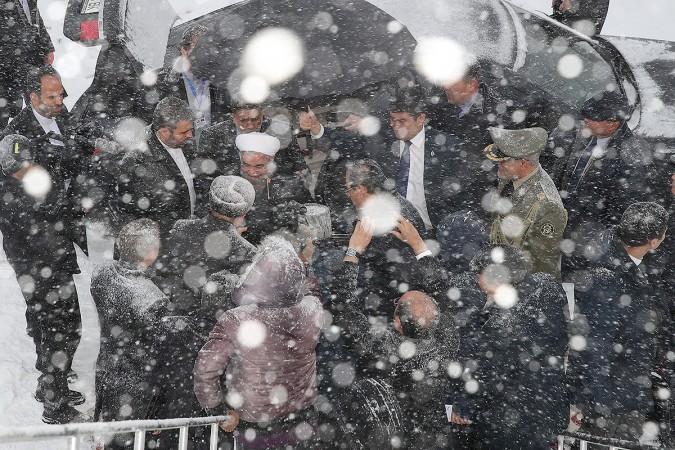 رییس جمهوری بیشکک را به مقصد تهران ترک کرد