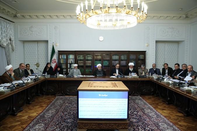 در جلسه شورای عالی انقلاب فرهنگی به ریاست دکتر روحانی
