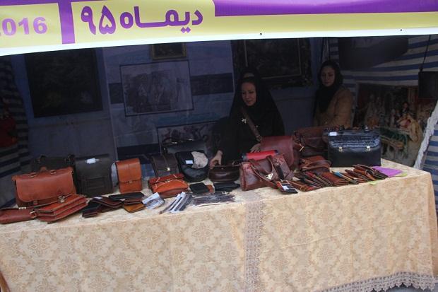 برپائی نمایشگاه توانمندیهای بانوان شهرستان ملارد