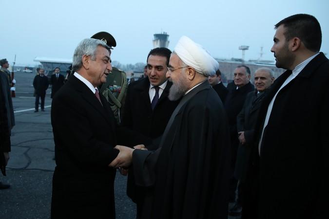 رییس جمهوری ایروان را به مقصد قزاقستان ترک کرد