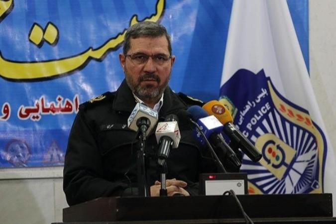سردار مهری، رییس پلیس راهنمایی و رانندگی
