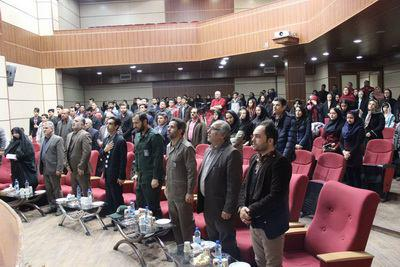 رییس بنیاد شهید شهریاردرمراسم اختتامیه پنجمین جشنواره عکس عاشورایی وحیدیه درشهریار