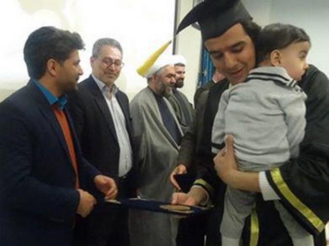 حضوررییس بنیادشهید شهریاردرجشن فارغ التحصیلی دانشجویان پیام نور