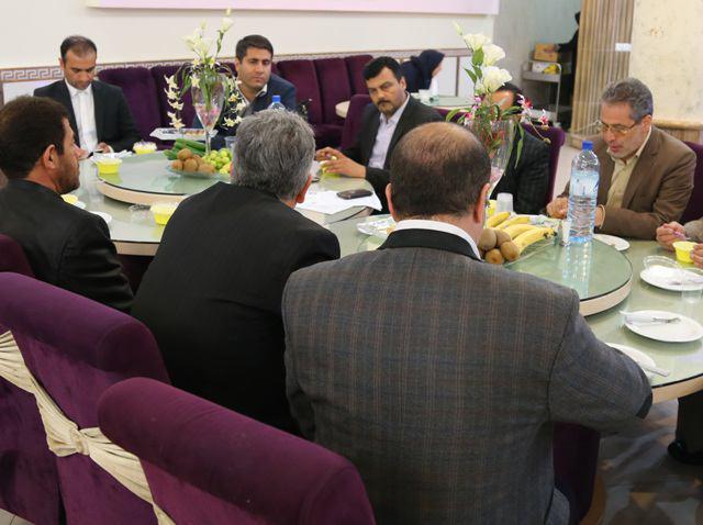 جلسه ستاد شاهد وایثارگران آموزش وپرورش درشهریاربرگزارشد