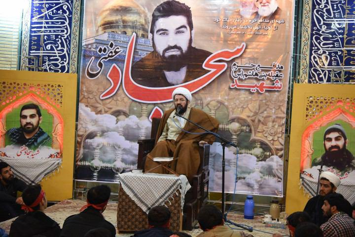 شهادت شهید مدافع حرم